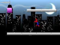 Spider Man in der Stadt